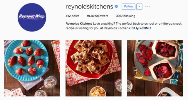 reynolds kitchens instagram profile