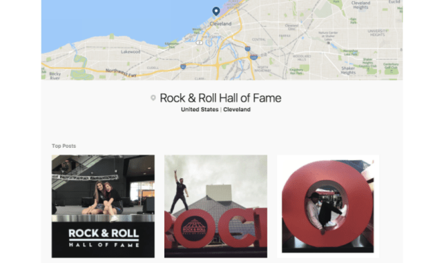 rock and roll hall of fame example