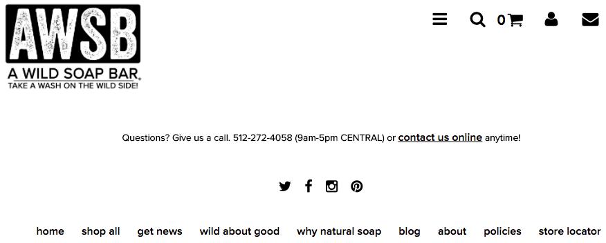 wild soap example