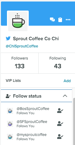 see who is following you on twitter via sprout