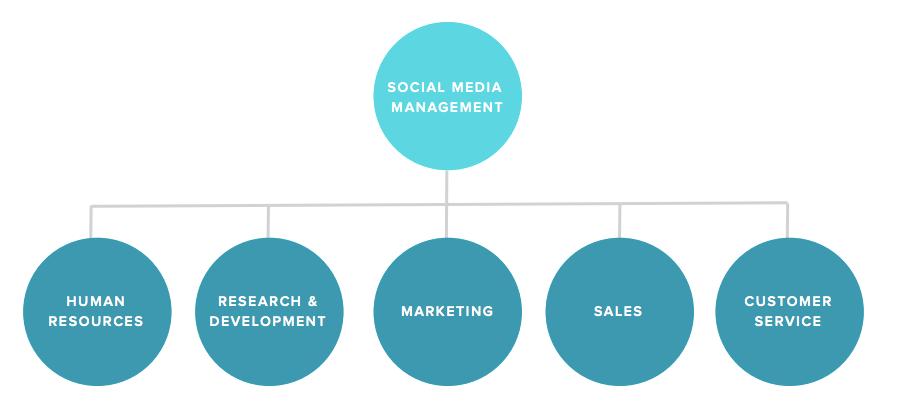 social media team illustration