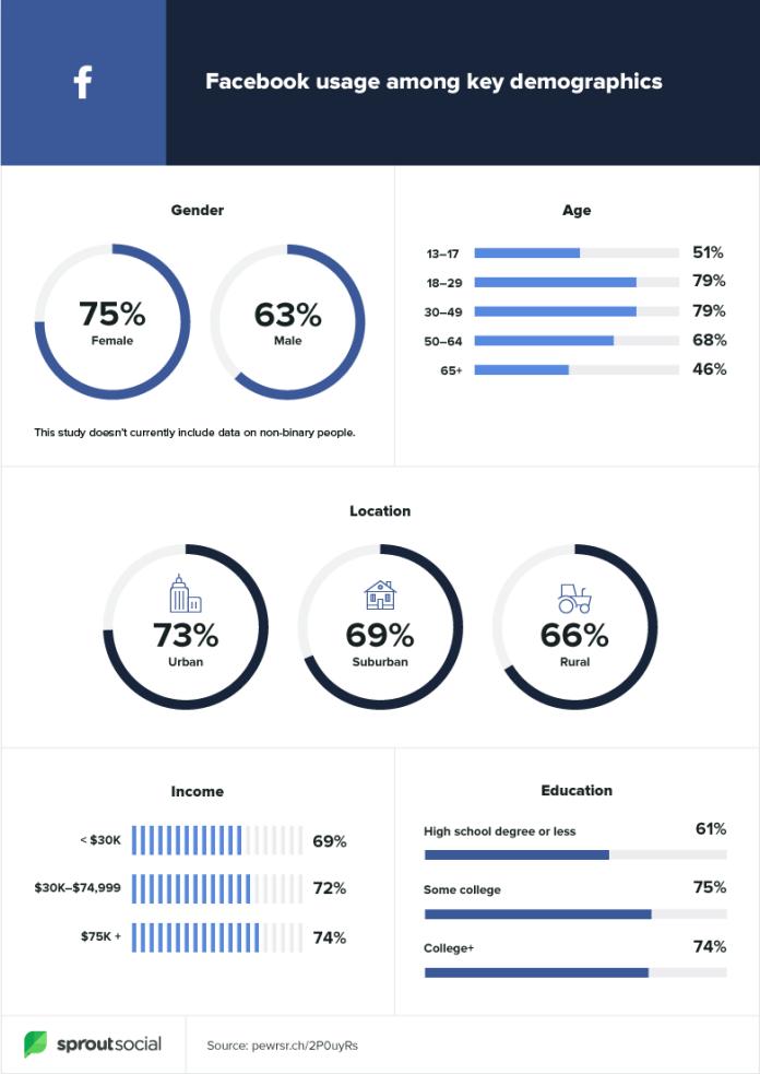 Facebook demographics 2020