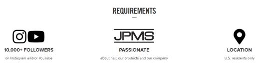 paul mitchell brand ambassador program requirements
