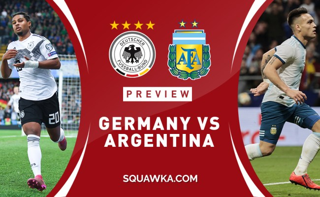 Germany Vs Argentina Prediction Preview Team News