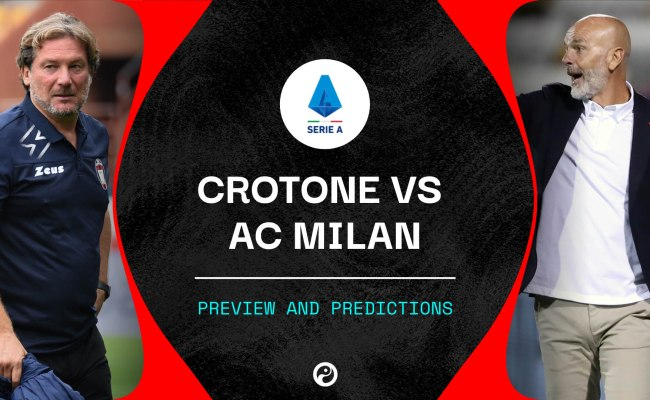 Crotone Vs Ac Milan Predictions Team News Live Stream Info Serie A
