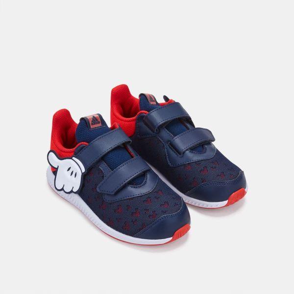 Red Adidas Kids Disney Mickey Fortarun Shoes - imgUrl 8c506b86a