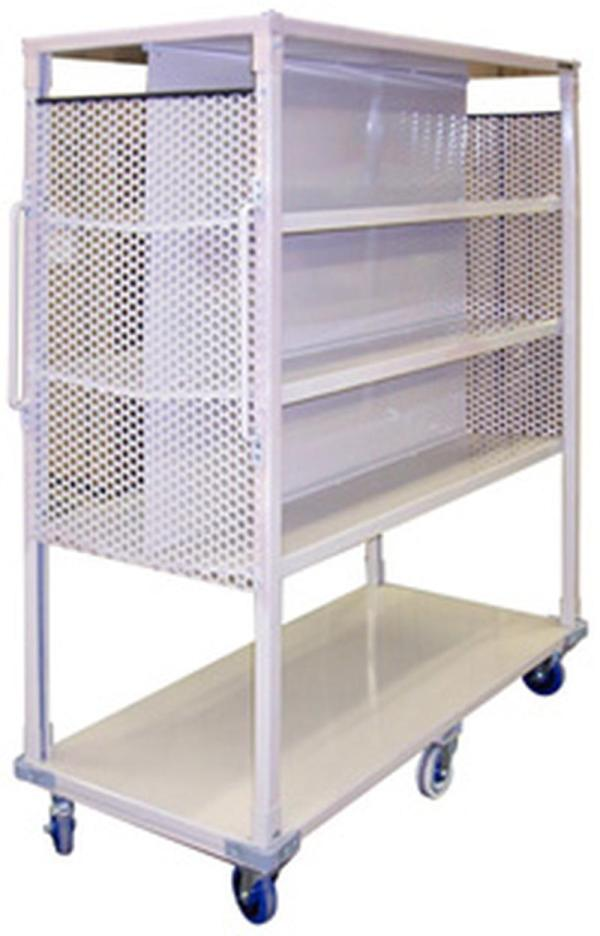 Stackbin Custom Projects Mobile Book Cart
