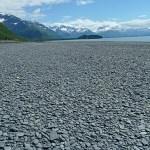 Vandring till Shoup Bay. Valdez