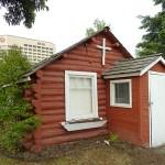 Gammalt hus. Anchorage