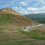Park Road. Denali National Park