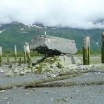Från jordbävningen. Old Valdez