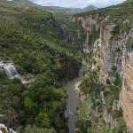 Kanjonen i Osumidalen. Corovoda