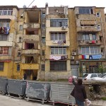 Bostadshus. Tirana