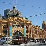 Finder station. Melbourne
