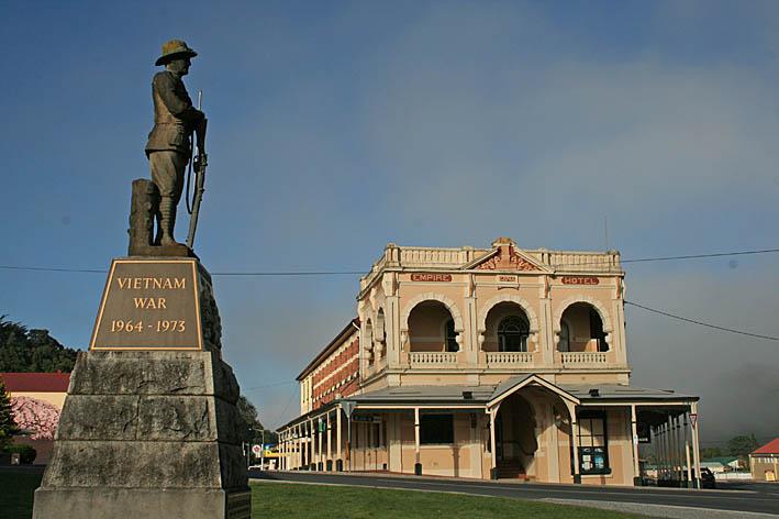 Queenstown. Tasmanien