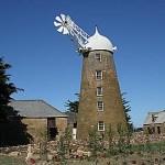 Väderkvarn. Oatlands. Tasmanien