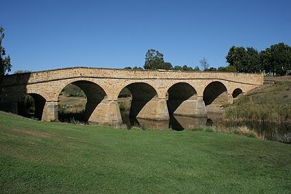 """""""Fångbron."""" Ross. Tasmanien"""