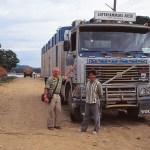 Fd svensk lastbil. Amazonas