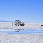 Salar de Uyuni, den stora saltöknen