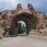 Del av romerska muren. Hisar