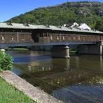 Gamla träbron. Lovech