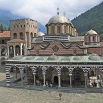 Klostret. Rila. Bulgarien (U)