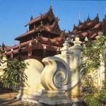 Tempel. Mandalay