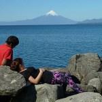 Sjön Llanquihue. Puerto Varas