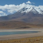 Vulkanen Miniques. Salar de Atacama