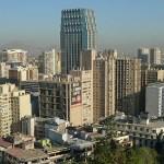 Stadsvy. Santiago