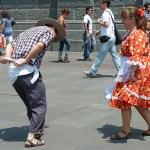 Traditionell dans. Santiago