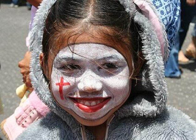Målad flicka. San José