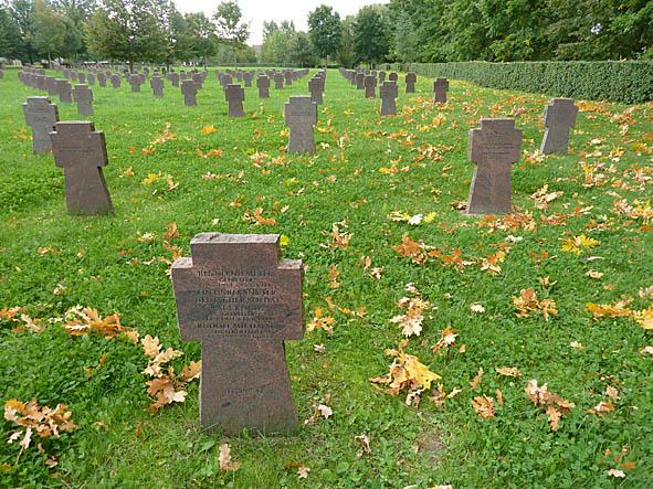 Tyska kyrkogården. Narva
