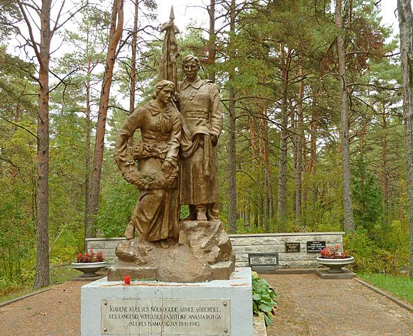 Ryskt monument. Narva