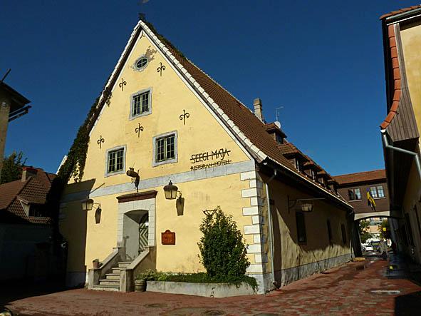 1600-tals hus. Pärnu