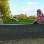 MInnesplats för Estoniaoffer. Tallin