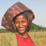Kvinna med hatt. Botiti