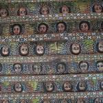 Kyrkan Debre Birhan Selassie. Gondar