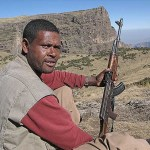 Min guide. Simien Mountains