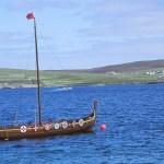 Vikingaskepp. Lerwick