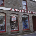 Andersons affär. Lerwick