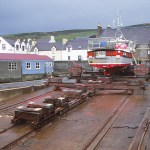 """The slip"". Scalloway"