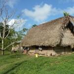 Traditionellt hus. Aguacate