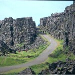 Stenformationer. Thingvellir (U)