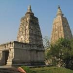Mahabodhi-templet. Bodhgaya (U)