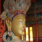 Buddhan. Klostret i Thiksey