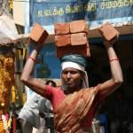 Byggnadsarbetare. Madurai