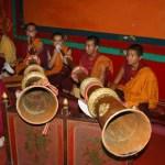Tibetanska munkar. McLeodganj