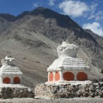 Chorten. Nubra Valley