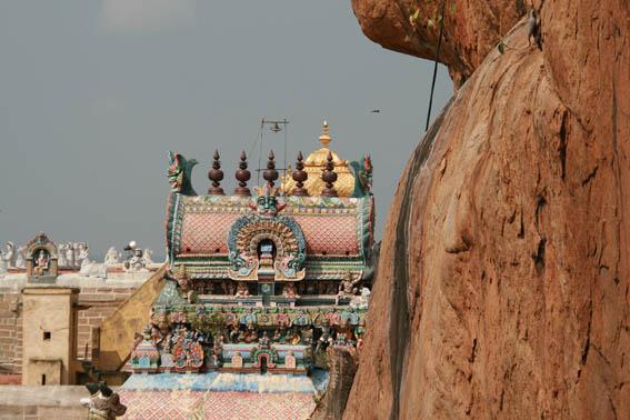 Rock Fort templet. Tiruchirapalli